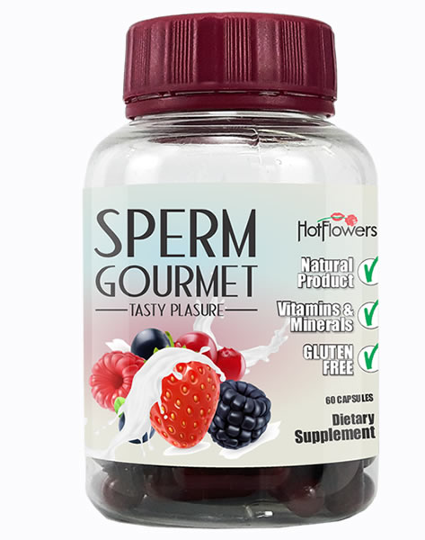Sperm Gourmet Tasty Pleasure Hot Flowers