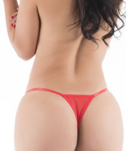 Sin - Hot Flowers G-String - Red