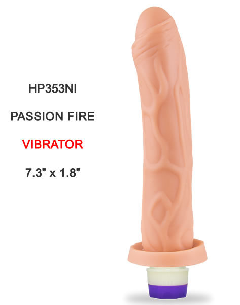 HP353NI Passion Fire Vibrator Hot Flowers