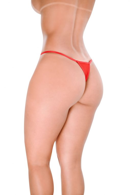 HT003V G-string Sin color Red by Hot Flowers