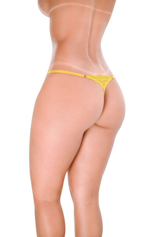 HT017AM G-String Sexy Yellow by Hot Flowers