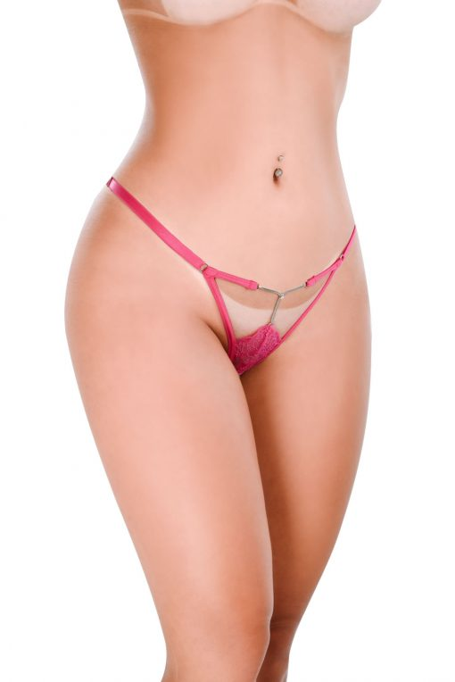 HT017PK G-String Sexy Pink by Hot Flowers