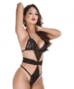 HF019 Bodysuit Aphrodite Crotchless Hot Flowers