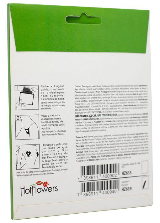 HZ635 Edible Lingerie Karamela Mint