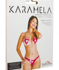 HZ636 Edible Lingerie Karamela Strawberry Mix